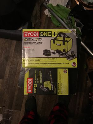 Royobi soldering iron and a 18volt battery and compact fast charger for Sale in Bethel Island, CA