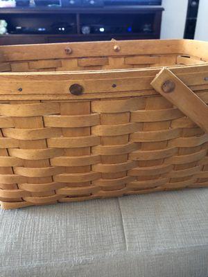 Longaberger basket for Sale in Eatontown, NJ