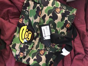 Small bape bag for Sale in Florissant, MO