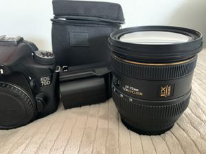 Canon eos 70d for Sale in Paramount, CA