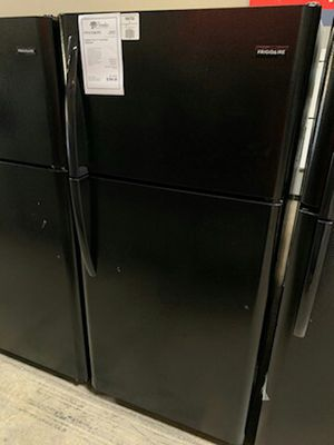 New Black Frigidaire 18 CuFt Top Freezer Refrigerator..1yr Manufacturers Warranty👆Paradise Appliance for Sale in Gilbert, AZ