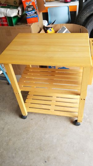 Rolling kitchen table for Sale in Miramar, FL