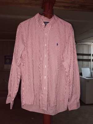 Polo long sleeve size large for Sale in Menomonie, WI