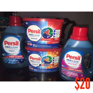 Persil Laundry Detergent for Sale in Pasadena, TX