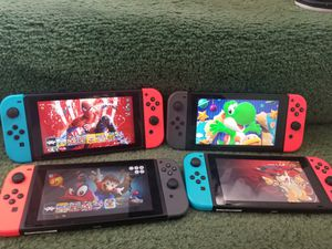 Nintendo switch GAMES ONLY NOT SYSTEM please read for Sale in Bellflower, CA