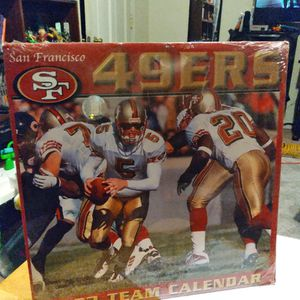 2003 SF 49ers Team Callender .still Sealed for Sale in Salinas, CA