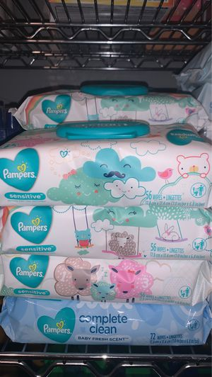 Pampers wipes $1.50 each (price is firm)(pick up only) for Sale in Houston, TX