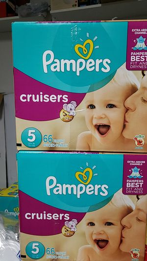 BUNDLE Pampers Cruisers size 5 for Sale in Woodbury, NJ