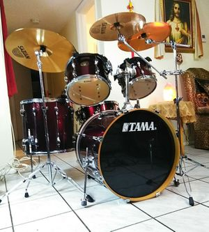 Tama complete drum set !! $540 or best offer !! for Sale in Wilton Manors, FL