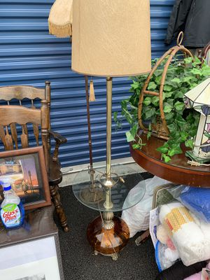 Antique Floor Table Lamp for Sale in Washougal, WA