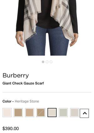Burberry scarf for Sale in Phoenix, AZ