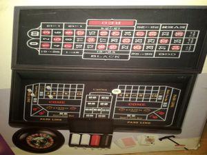 Casino 6 games table board for Sale in Waltham, MA