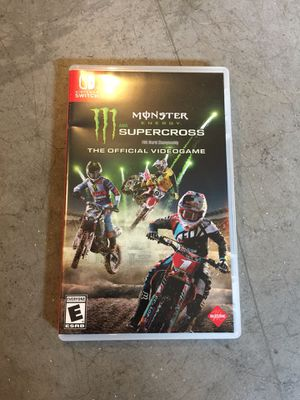 Monster Energy Supercross for Nintendo Switch for Sale in Snohomish, WA
