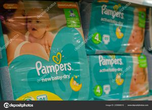 Pampers and wipes in all sizes. for Sale in Seattle, WA