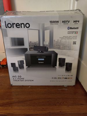 Bluetooth home stereo system for Sale in Philadelphia, PA