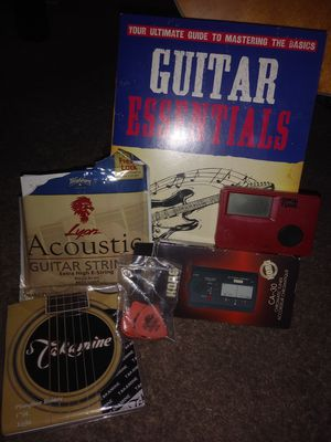 Guitar and accessories for Sale in Henderson, NV