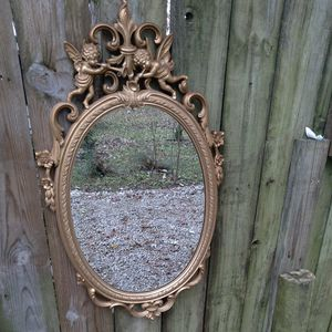 Large gold wall hanging mirror for Sale in Shepherdsville, KY