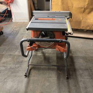 RIGID portable table saw with stand for Sale in Inglewood, CA