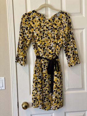 H&M 3/4 length sleeve yellow mini dress for Sale in Aliso Viejo, CA