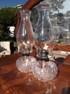 Vintage oil lamps for Sale in South Gate, CA