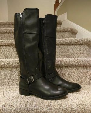 "New Women's Size 9.5 Black Riding Boot with Full Zipper and Expanding to 18.5"" for Sale in Woodbridge, VA"