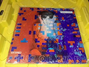 Paul McCartney Tug of War vinyl record album rock Mexico Import for Sale in Downey, CA