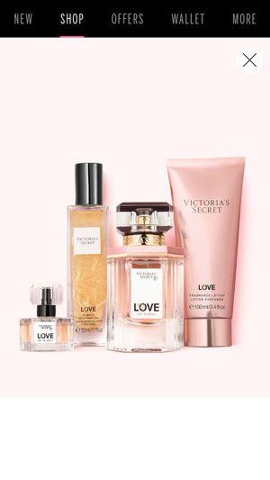 New Gift Victoria Secret VS Women's Cologne Love for Sale in Rialto, CA