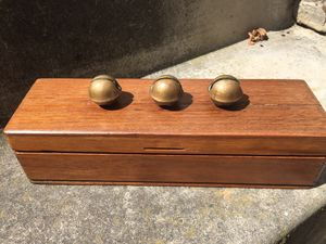 Nice Vintage BOX with SLEIGH BELLS for Sale in Scappoose, OR