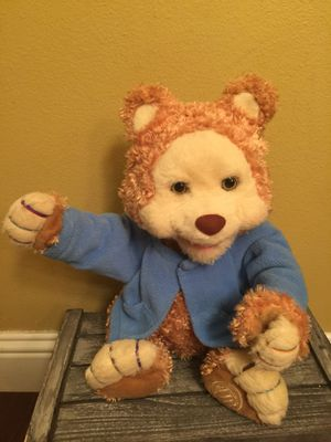 Playskool TJBearytales Teddy Bear talking moving stuffed animal for Sale in Lake Stevens, WA