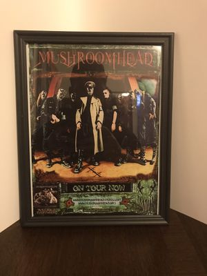 Mushroomhead On Tour 8x11 mini poster framed for Sale in Brunswick, OH