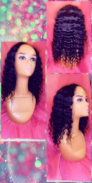 "16"" Brazilian U-Part Wig 100% Human hair for Sale in Pikesville, MD"