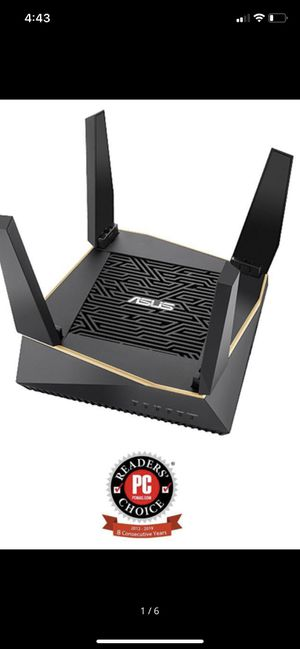 ASUS RT-AX92U ASU RT RT-AX92U AX6100 Tri-band WiFi6 Router AiMesh mesh wifi system for Sale in Orange, CA