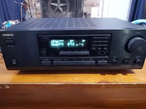 Onkyo Receiver Amplifier AM FM Stereo Home Theater Audio System TX-8211 for Sale in Spring, TX