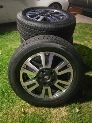 2020 Toyota tundra TRD wheels and tires 275 55 R 20 for Sale in El Cajon, CA