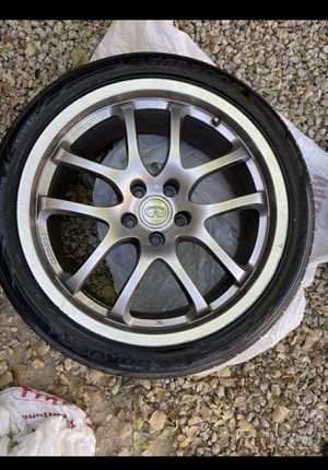 Infiniti G35 Wheels & (New) Tires for Sale in Peoria, AZ