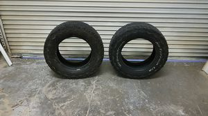 Tires bf Goodrich all terrain used for Sale in Montclair, CA