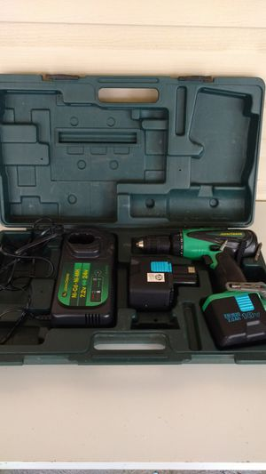 John Deere power drill with extra battery and case for Sale in Columbus, OH