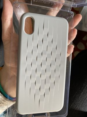 Gray iPhone XS Max Case (BRAND NEW NEVER USED) for Sale in Oakboro, NC