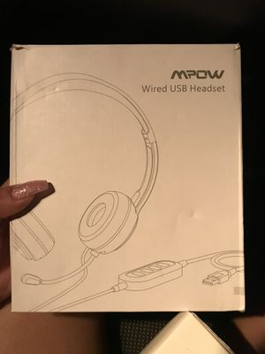usb headset for Sale in Moreno Valley, CA