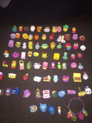 Alot of shopkins and shopkin bracele for Sale in Udall, KS