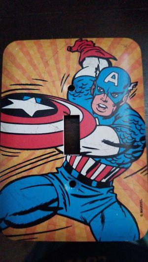 Captain America switch light cover for Sale in Colton, CA