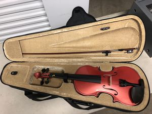 4/4 Violin with Bow and Case for Sale in Bristol, CT