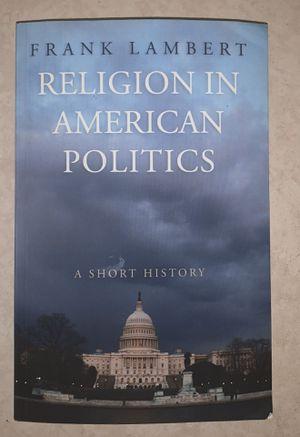 Religion in American Politics: A Short History for Sale in Malden, MA