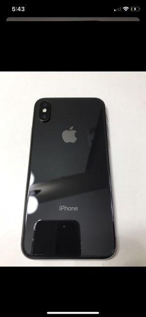 iPhone X for Sale in Woodburn, OR