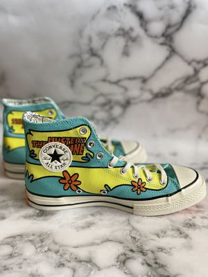 Converse Sz 9 Scooby Doo Mystery Machine for Sale in Centreville, VA