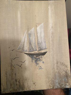 Ship painting for Sale in Glenburn, ME