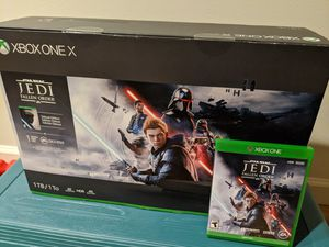 Xbox One X Star Wars Jedi Fallen Order for Sale in Kirkland, WA