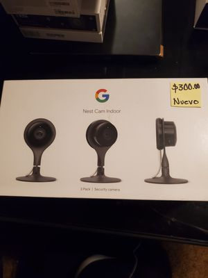 Nest cam indoor 3 pack for Sale in Parlier, CA