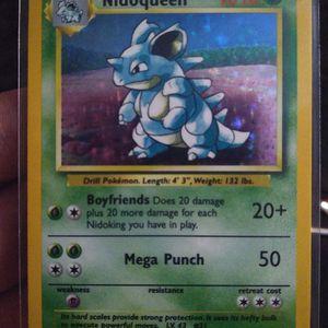 Pokemon Cards No Symbol Error Nidoqueen for Sale in Phoenix, AZ