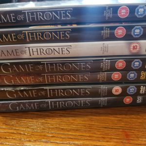 Game of Thrones Seasons 1-7 DVD Box Set (Region 2 DVD) for Sale in Florence, SC